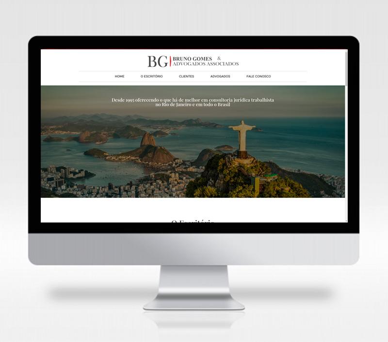 Site Bruno Gomes Advogados