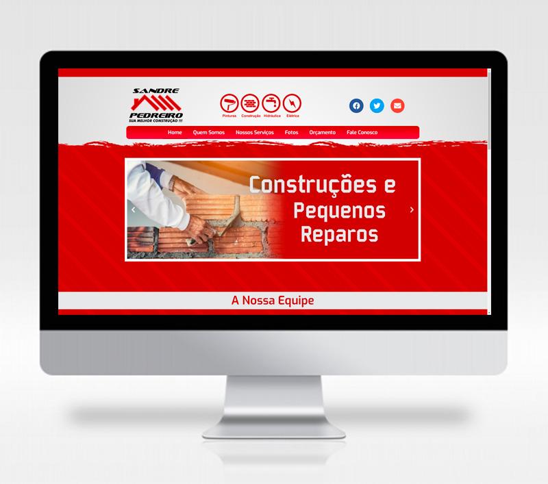 Site Sandre Pedreiro